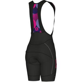 Alé Cycling PRR 2.0 Agonista 2 Bib-pyöräilyshortsit Naiset, black-fluo pink